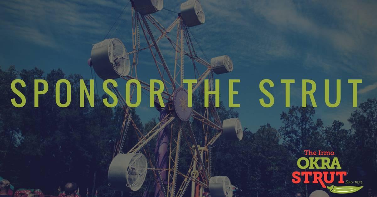 Sponsor The 2019 Okra Strut Festival