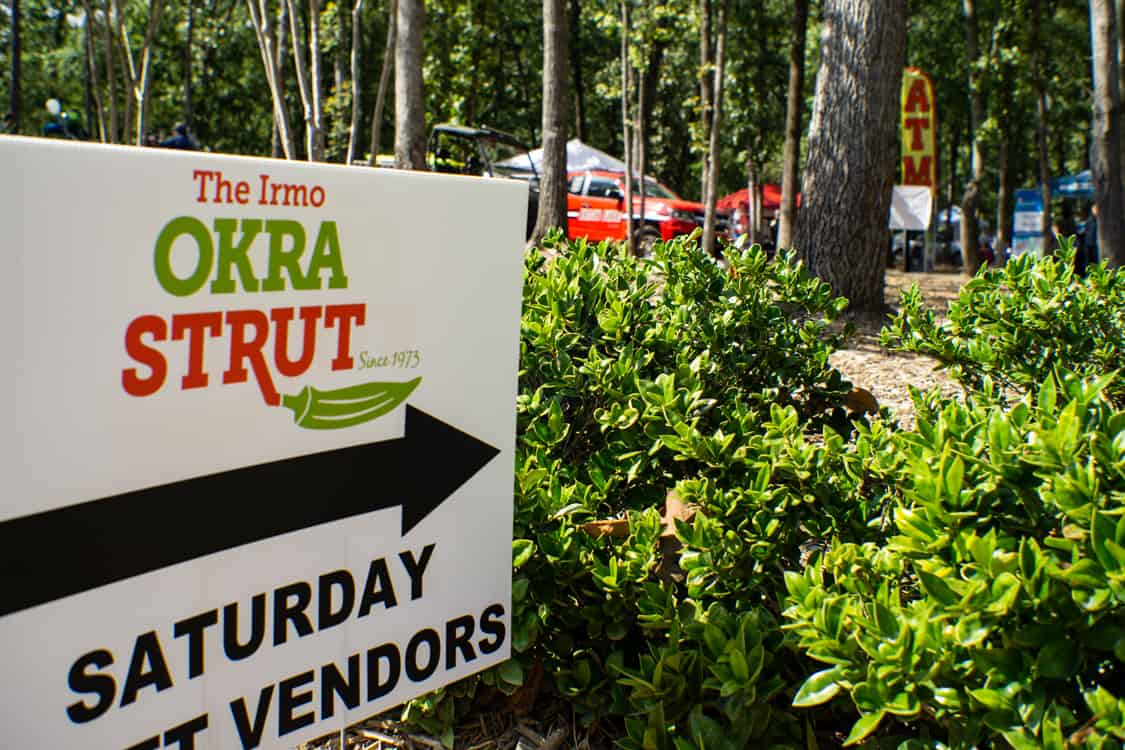 The 46th Annual Irmo Okra Strut Festival in South Carolina