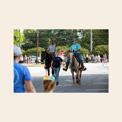 Irmo Okra Strut Horse In Parade 2019