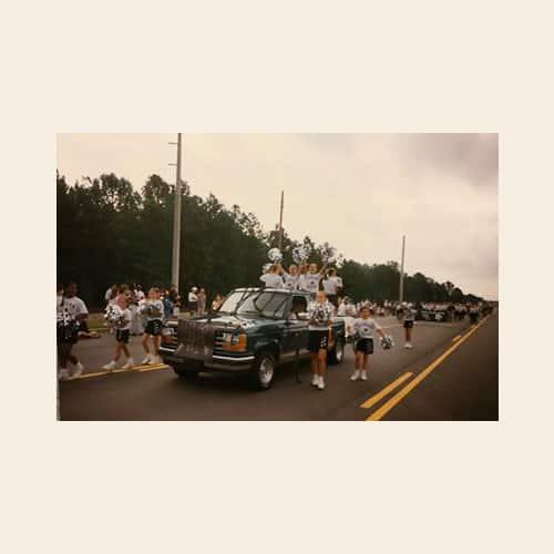 irmo cougars 1996 irmo okra strut parade